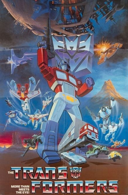 The Transformers (1984-1987) - Two opposing factions of transforming alien…