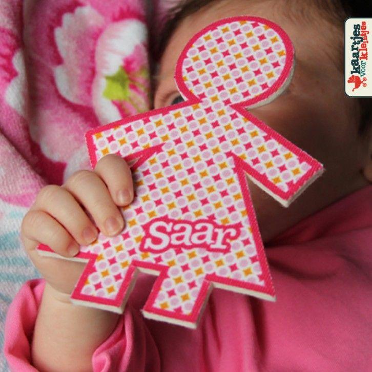 Origineel geboortekaartje - Kaartjes voor kleintjes