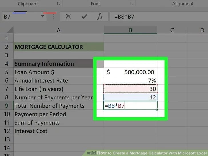 Excel Gyorstalpalo Tutorial In 2020 Mortgage Loan Calculator Mortgage Amortization Calculator Mortgage Calculator