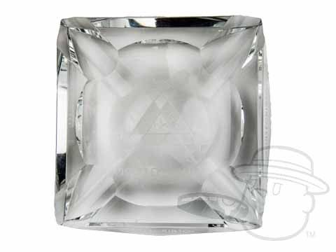 Montecristo Ashtray - Crystal - Best Cigar Prices