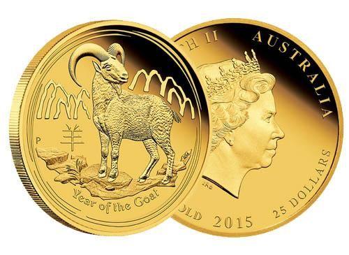 Moneta oro Australian Lunar Series II 2015