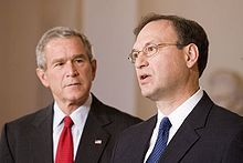 Samuel Alito - Wikipedia, the free encyclopedia - nominated by GW Bush