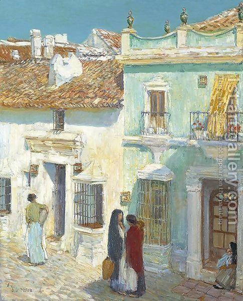Childe Hassam:Plaza de la Merced, Ronda