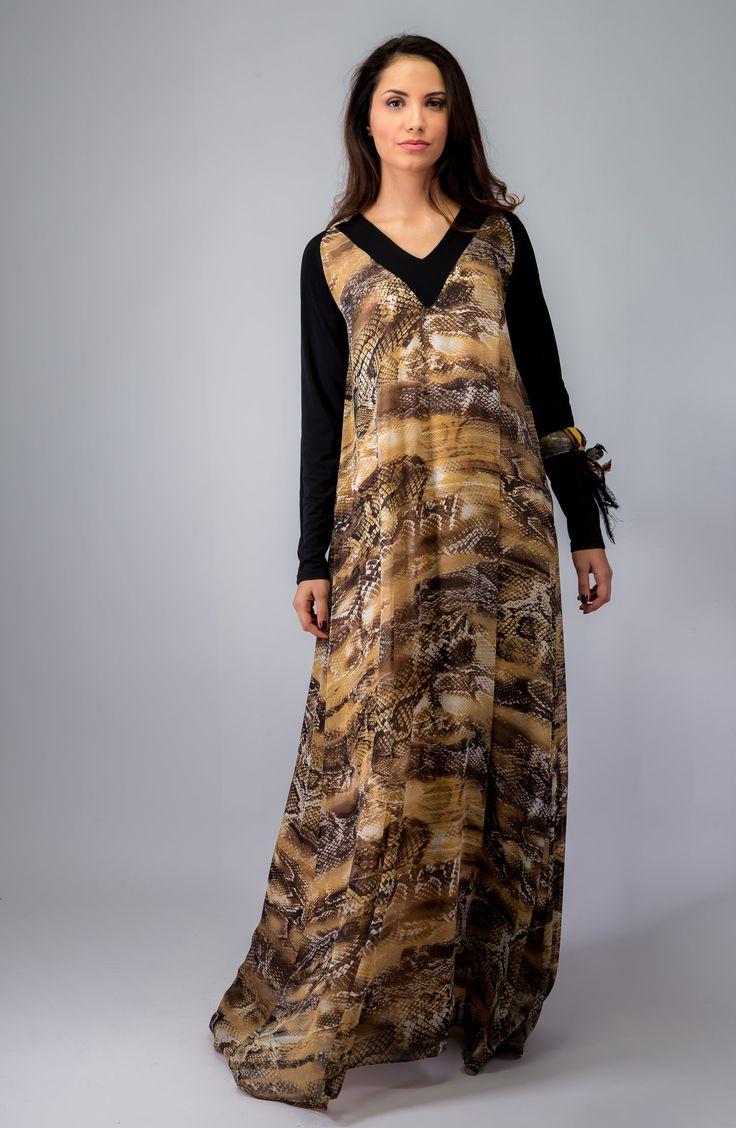 winter collection 2015 africa spirit dress