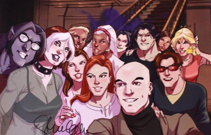 Steve Gordon's X-Men: Evolution Selfie