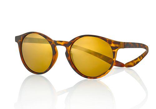 #gafas redondas #lentes polarizadas y espejo oro #varillas con sistema koala. # mejor sujeccion