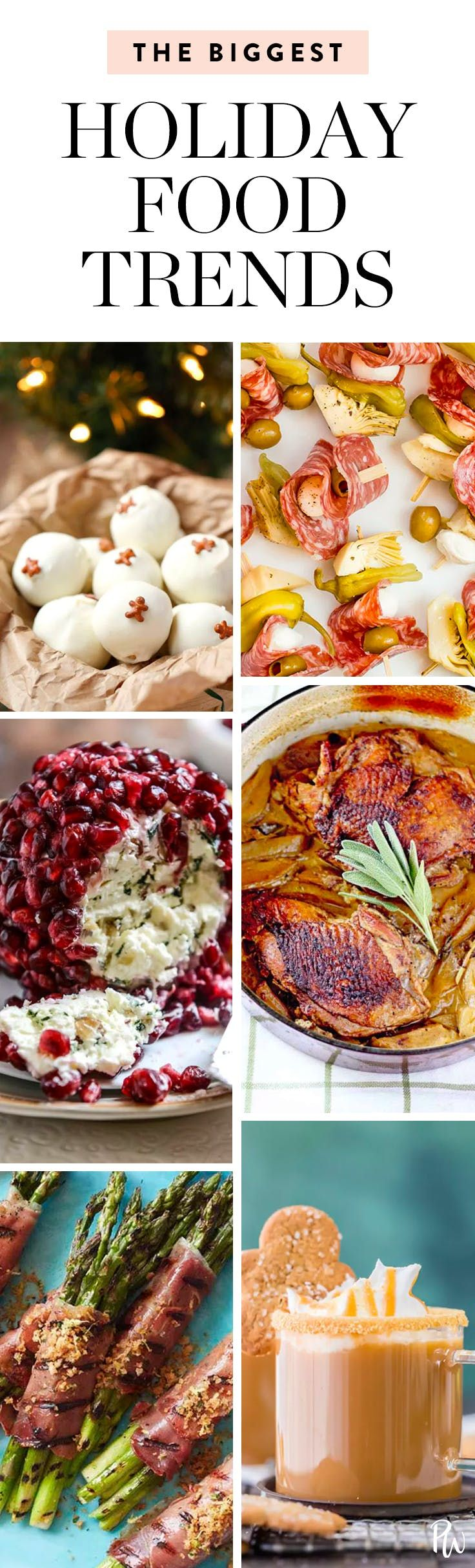 Psst: These Are the Biggest Holiday Food Trends of 2017  via @PureWow