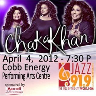 Chaka Khan coming to CEPAC April 4!Chaka Khan, Concerts Bill, Cepac April
