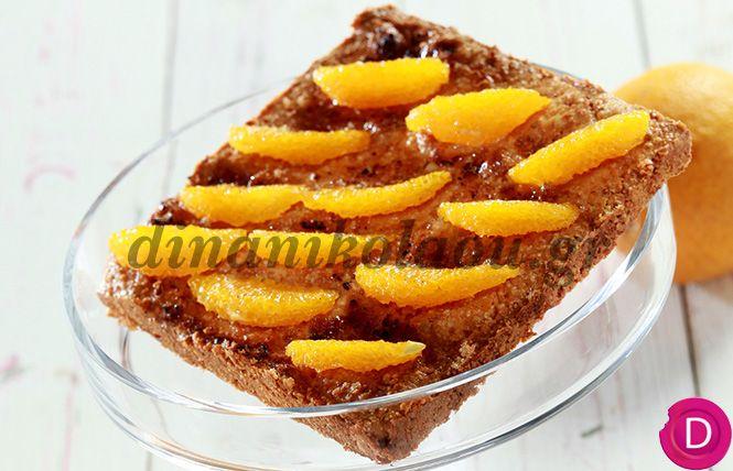 Τάρτα με πορτοκάλια | Dina Nikolaou
