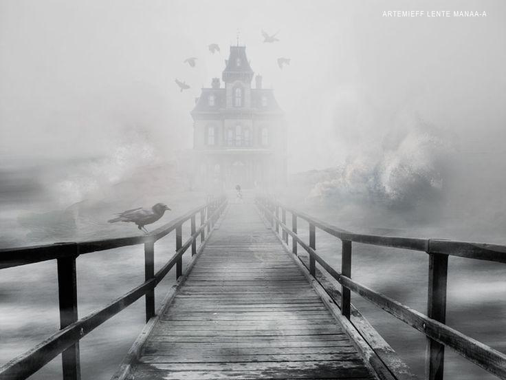 maison hantée #Computergraphics #hauntedhouse #Bellecourecole