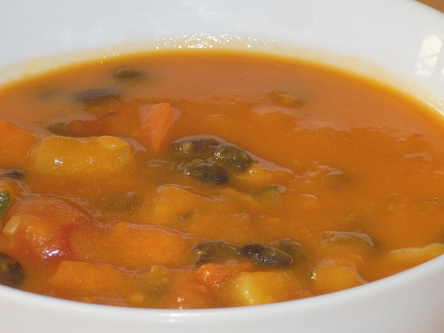 Creamy Sweet Potato and Black Bean Soup | Recipes | Pinterest