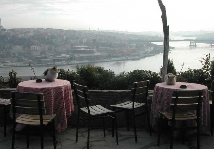 Eyup, Pierre Loti Cafe overlooking the Golden Horn -- #Istanbul