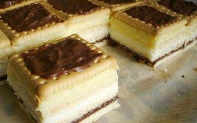 Egyik kedvenc kekszes sütink, sütés nélkül, villámgyorsan elkészül