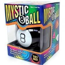 Boule magique (Magic Ball - Eight Ball)  Quel petit génie se cache à l'intérieur ?