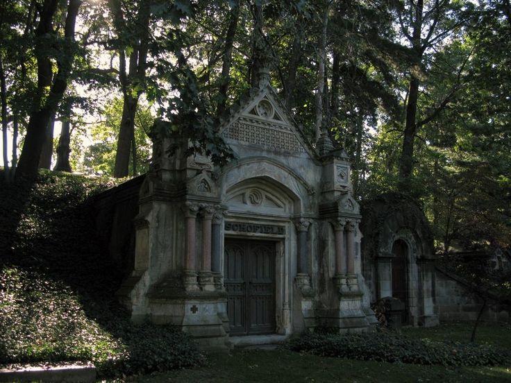 Gothic Mausoleum by JulianVII via Deviantart | Schofield Mausoleum | Lakeview Cemetery | Cleveland OH & 25 best THE GRAVEYARD images on Pinterest Pezcame.Com