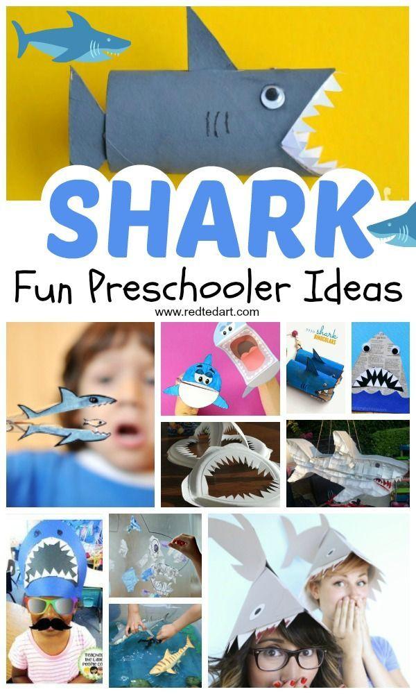 Shark Craft Ideas For Preschool Shark Craft Shark Week Crafts