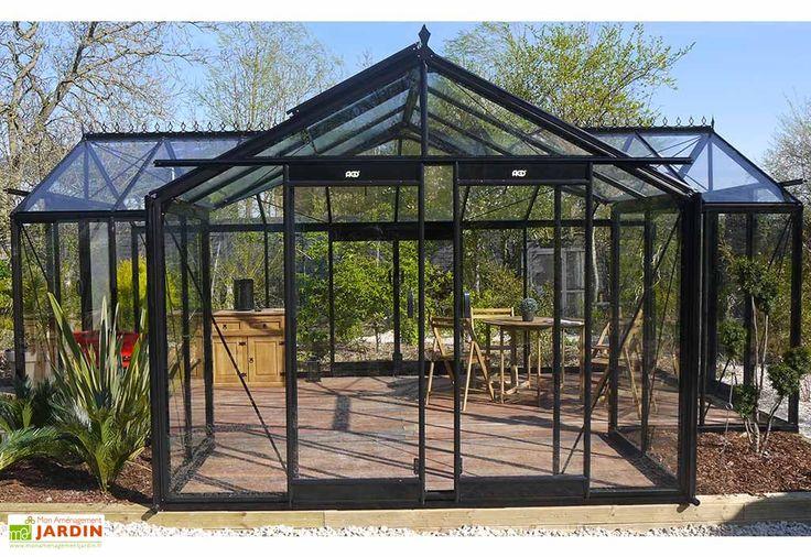 Serre de Jardin Orangerie 22,59 m²