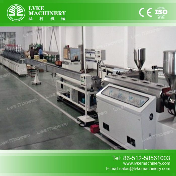 PS Foamed Picture Frame Extrusion Line-PS Foamed Picture Frame Extrusion Line-Zhangjiagang Lvke Machinery Technology Co.,Ltd