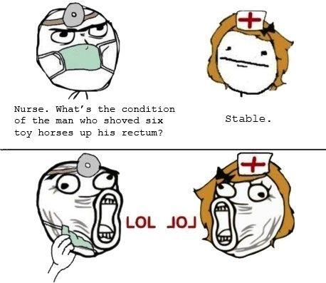 Nurse…