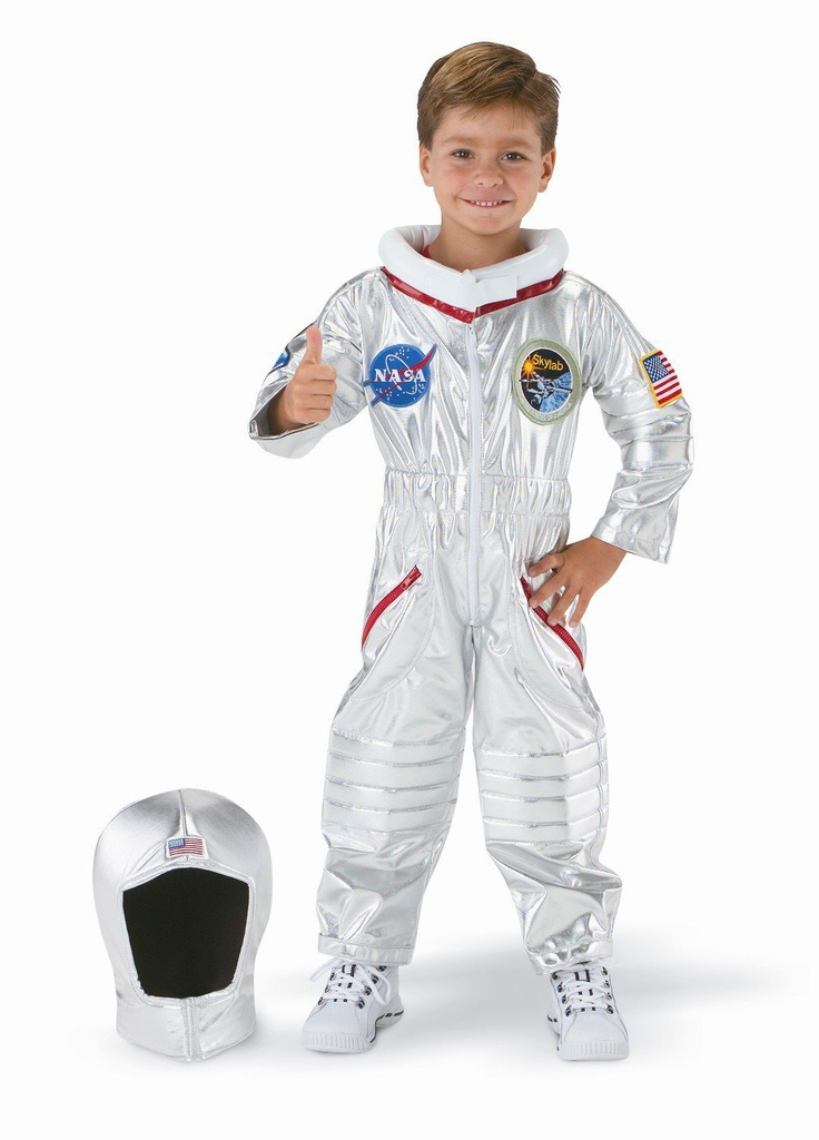 Easy to Make Astronaut Costume - Pics about space