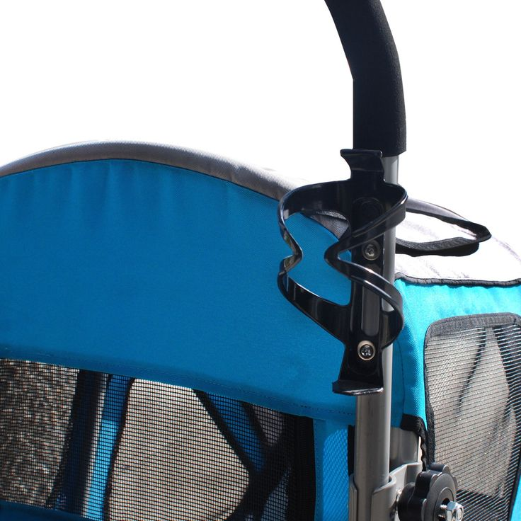 Petzip Zoom Trailer/Stroller Blue * Want additional info