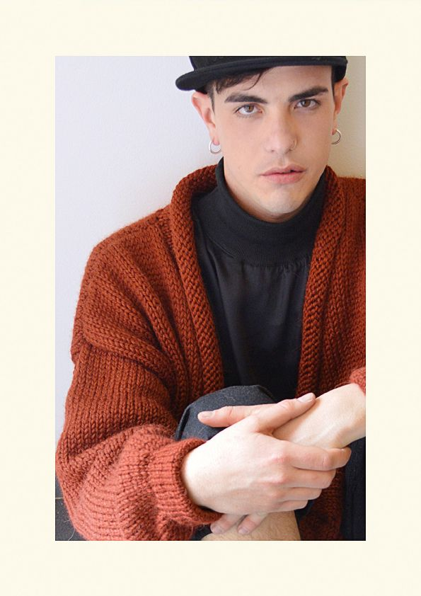AW14/15 Organic Wool Knitwear Cardi