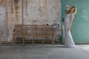 Clancy wearing Alexis George Adelaide Couture Bridal Designs