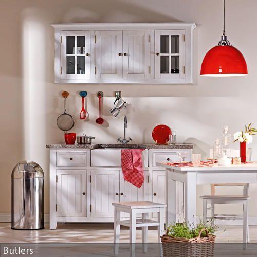 10 besten küchen bilder auf pinterest | küche esszimmer ... - Hängeschrank Küche Landhausstil