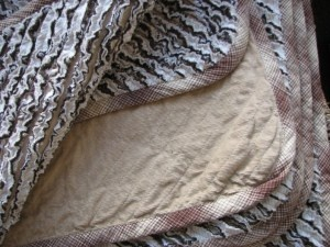 Chenille throws/blankets