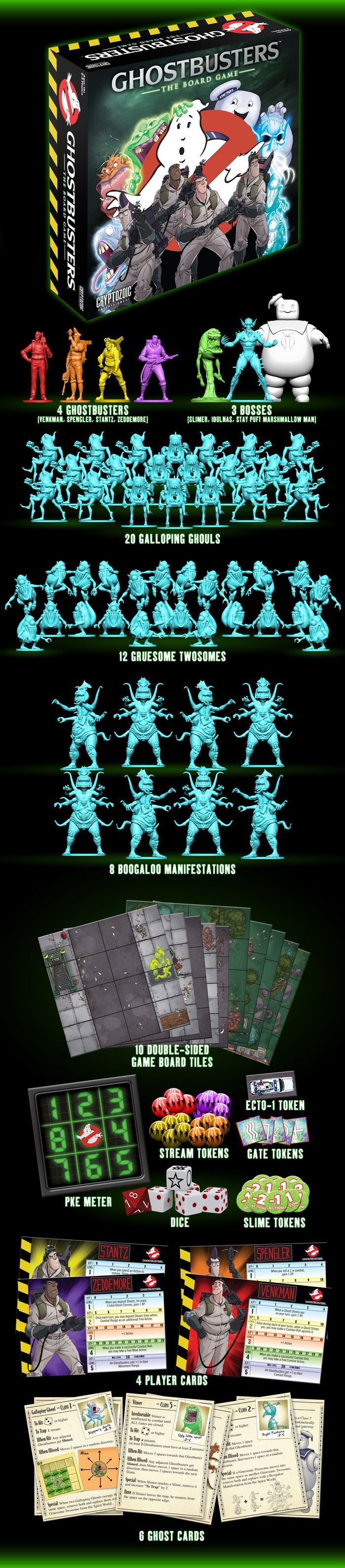 Ghostbusters: The Board Game by Cryptozoic Entertainment — Kickstarter