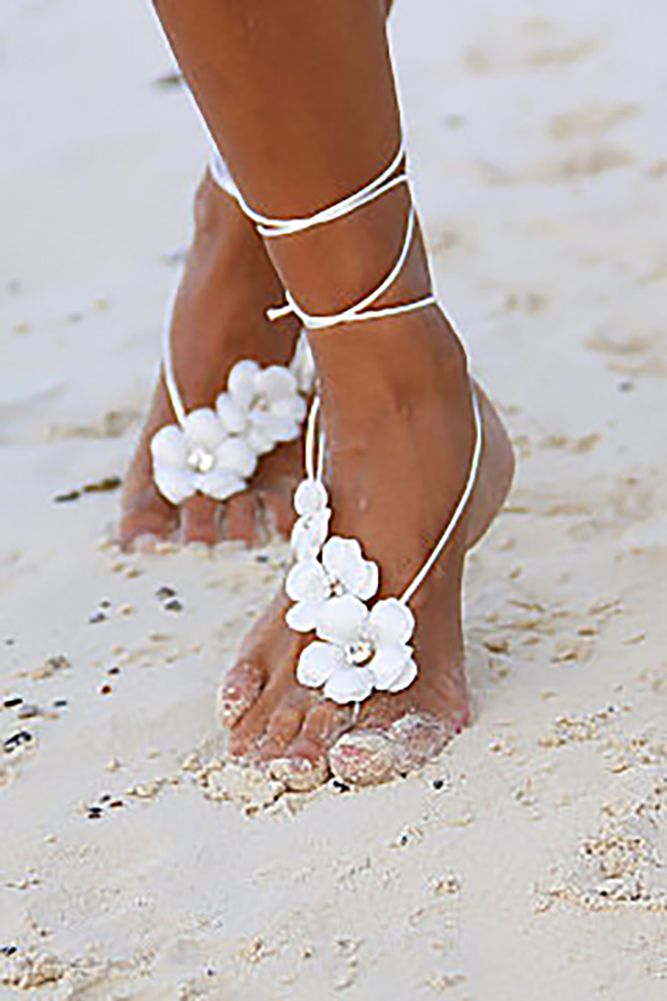 Best 25 beach wedding shoes ideas on pinterest beach wedding 27 beach wedding shoes that inspire junglespirit Images