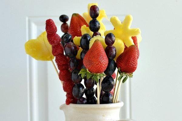 Make your own edible bouquet!