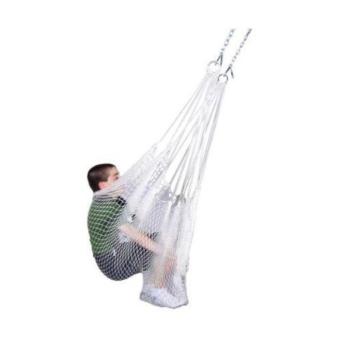 The Therapy Net Swing is the solution to calming a restless child. This net swing is a great therapy tool that stretches to fit any child or adult. It is designed to be used in a sitting position like a typical swing. Kids will feel safe and secure while stimulating their vestibular system. Enveloping a...Read More »