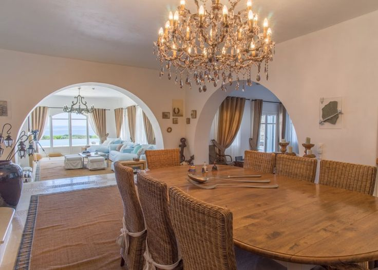 Villa Astir/ Antiparos Greece / www.villa-astir.gr / info@villa-astir.gr / Dining Room
