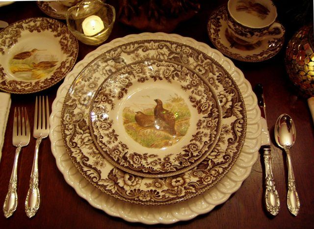 Spode - Woodland.  I've always wanted this place setting.
