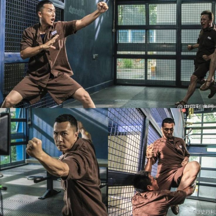 M.A.A.C. – NEW 'Prison Fight' Images From DONNIE YEN's KUNG FU JUNGLE. UPDATE: NEW Poster
