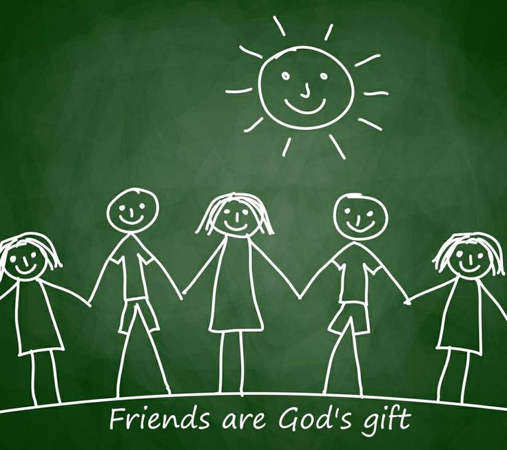 friends are...