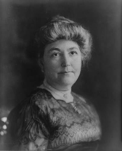 Ellen Wilson  A portrait of First Lady Ellen Wilson, first wife of President Woodrow Wilson