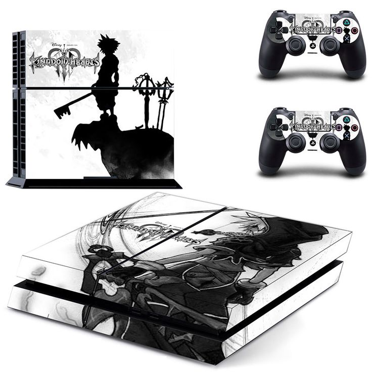 Free shipping ps4 kingdom hearts rpg anime decal stickers