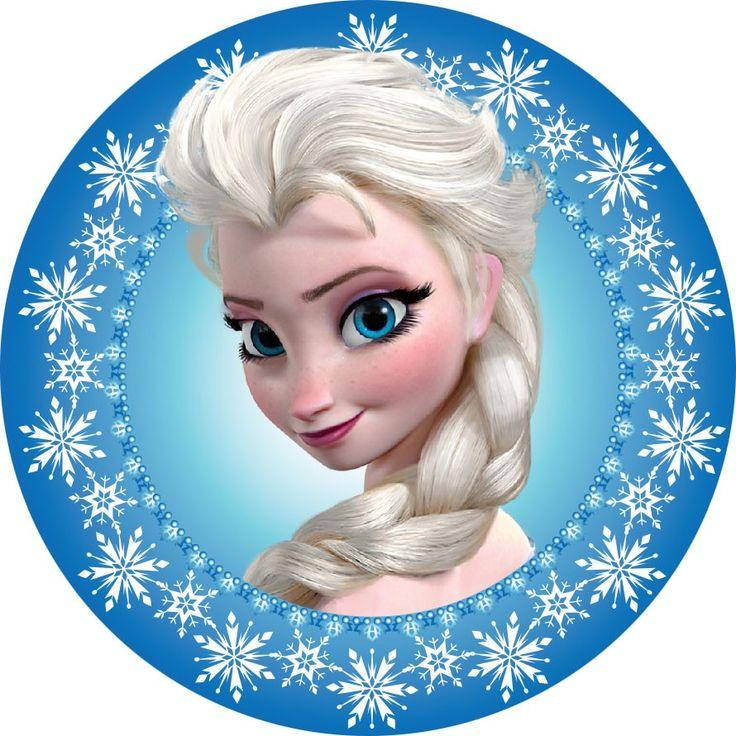 """Elsa - Frozen 3"""" Button"""