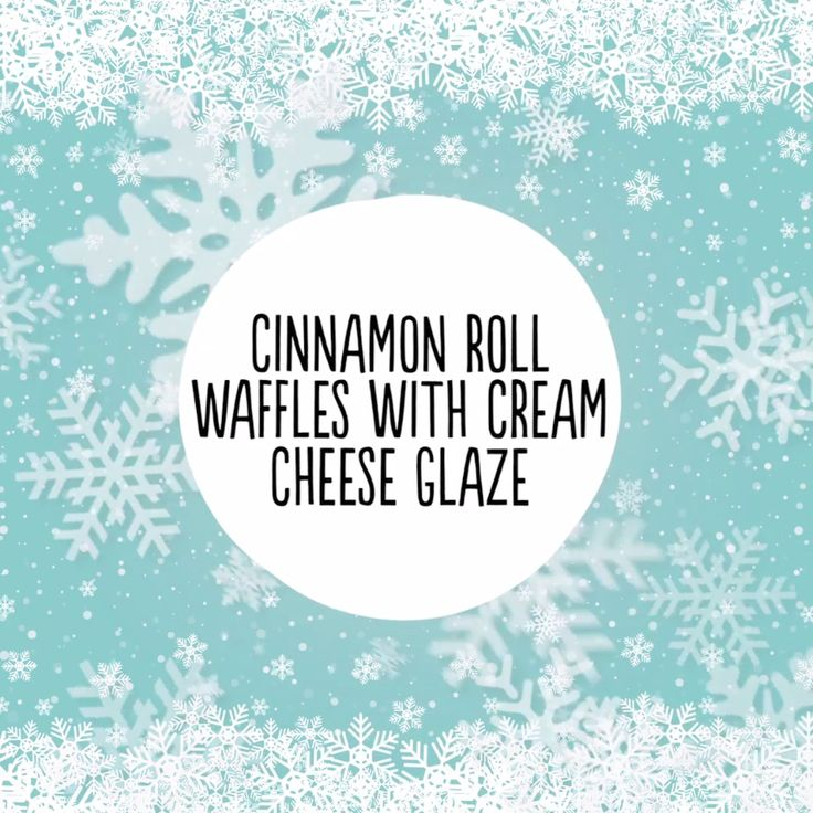Warm up on those cold winter mornings with Cinnamon Roll Waffles! Pillsbury Cinnamon Rolls made into waffles and topped with icing will become an instant hit. You're only 4 ingredients away from your new breakfast go-to.