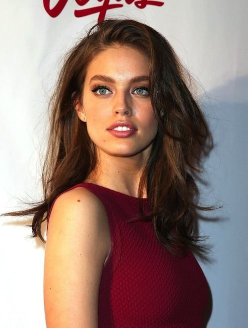 American model, Emily DiDonato...