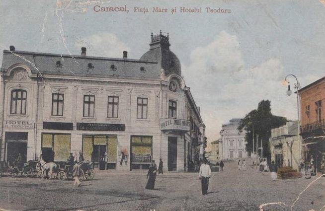 Caracal - Hotel Teodoru - interbelica