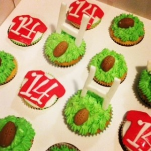 Rugby League Cupcakes Boys Party Birthday Man 14 Year Old Jersy Football