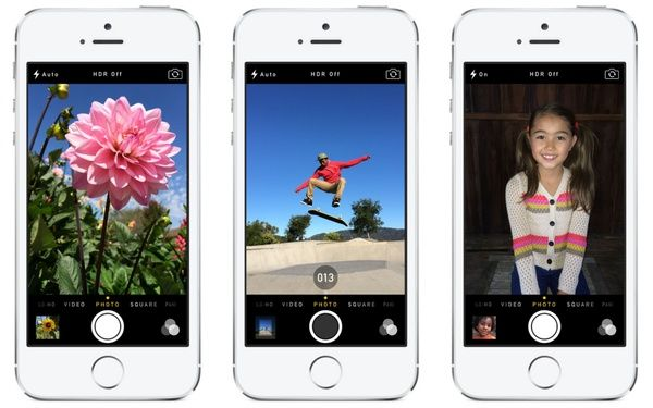 iOS 7 Bring Burst Mode Feature For The Camera, Support iPhone Older Models?