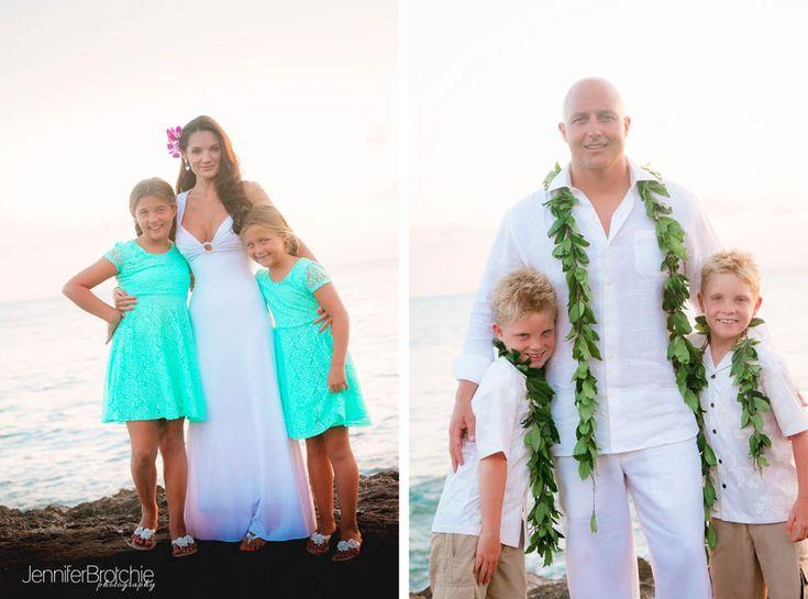 Oahu Family Photographer Wedding Ceremony At The Beach Koolina Hawaii Disney