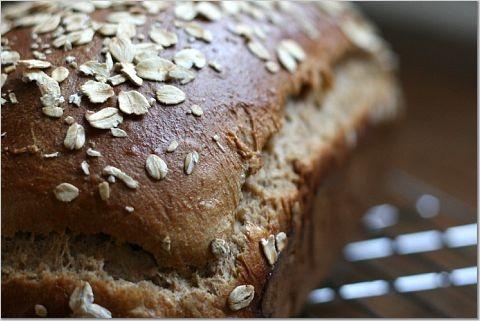 Oatmeal Wheat Bread | Bread Recipes | Pinterest