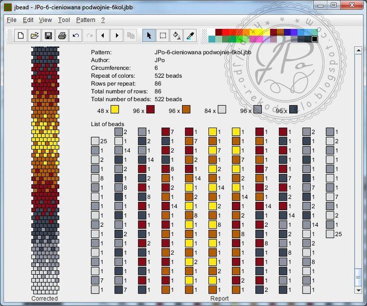 Mejores 218 imágenes de Bead Crochet Jewellery en Pinterest | Joyas ...
