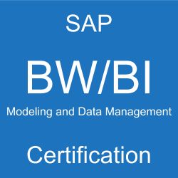 SAP Modeling and Data Management with BW/BI Certification, C_TBW55_73