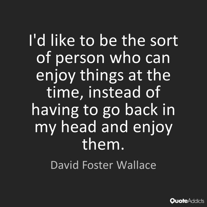 """speech of david foster wallace essay The piece of rhetoric i have chosen to analyze is a speech called """"this is water"""" this was a commencement speech delivered at kenyon college in 2005 by american author, david foster wallace a textual essay version of wallace's speech was published in 2009, with the added subtitle """"some."""